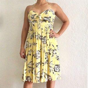 NWT!! BB Dakota Joss Crepe Lily Halter Dress